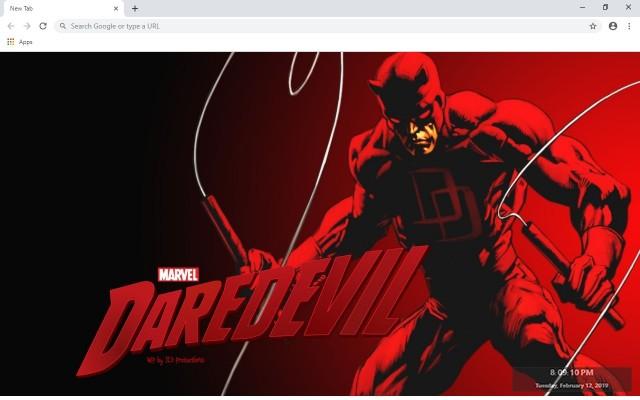 Marvel's Daredevil New Tab