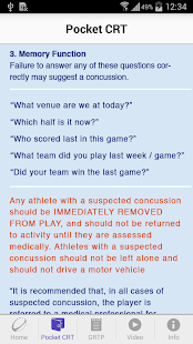 World Rugby Concussion- screenshot thumbnail