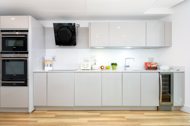 Luxury kitchen at Altitude Point Serviced Apartments, Aldgate