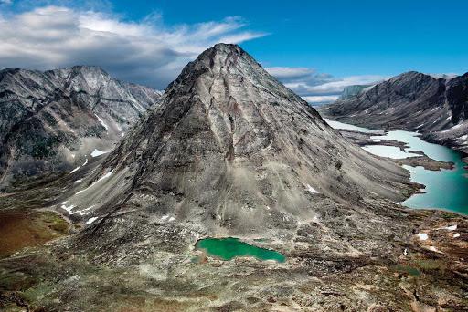 Labrador-Torngats-Mountains-peak.jpg - The stark beauty of the Torngats Mountains at the northern tip of Newfoundland and Labrador.
