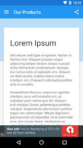 WebView App Demo screenshot 1