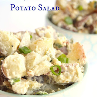 Red White & Blue Potato Salad