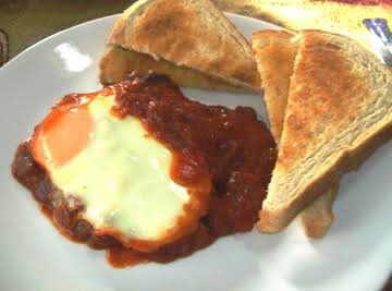 "Steak & eggs in Purgatory ""is deliziosa!!!"""
