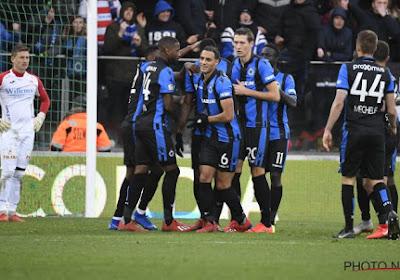 Le Club de Bruges s'impose à Ostende et s'isole à la deuxième place