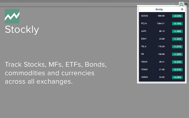 Stockly - Track Stocks, MFs, ETFs and Bonds
