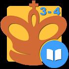 Mate en 3-4 (Problemas de Ajedrez) icon