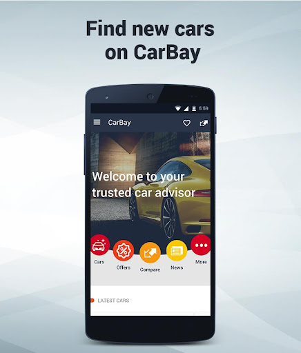 New Cars Research: CarBay screenshot 1
