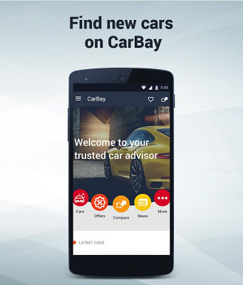 New Cars Research: CarBay - screenshot