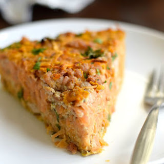Sweet Potato Hash Brown Pie