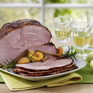 Apricot Mustard Glazed Ham Recipe