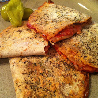 Low Carb Pizza Pockets.