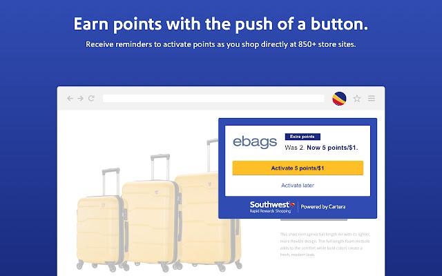 Rapid Rewards Shopping® button