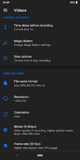 Screen Recorder - NO ROOT screenshot 7