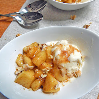 Spiced Apple Sundaes