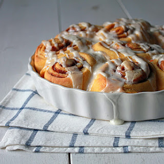 Sweet Potato Cinnamon Bun