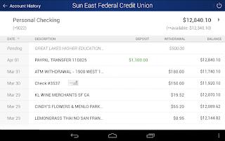 Screenshot of Sun East Federal Credit Union