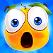 Gravity Orange 2 -Cut rope help orange pass window icon