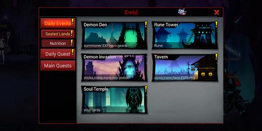 League of Stickman 2-Online Fighting RPG 1.2.7 screenshots 8