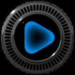 NEON BLUE Poweramp skin Icon