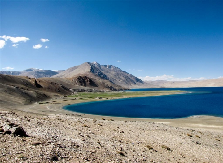 Tso Moriri lake di leorol
