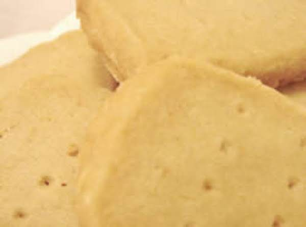 Almond Or Pecan Shortbread Recipe