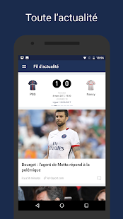 Paris Live –Football en direct- screenshot thumbnail