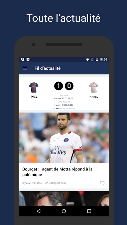 Paris Live –Football en direct- screenshot