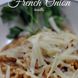 French Onion Risotto.