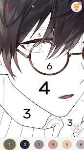 Tap Anime – Color By Number 8
