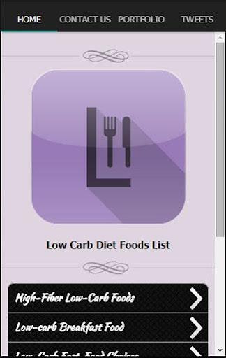 低炭水化物ダイエット食品一覧