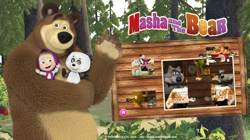 Masha et l'ours. Jeux éducatifs  captures d'écran 1