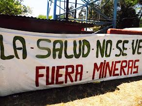 Photo: FUERA MINERAS!!!