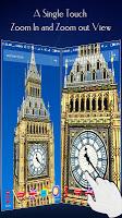 screenshot of London Big Ben Clock 3D Theme