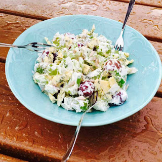 Delish Grapes And Cheese Salad