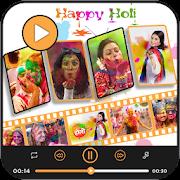 Holi Video Maker - Photo Video Maker