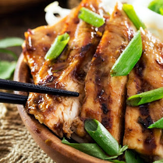 Ginger Lemongrass Teriyaki Grilled Chicken.