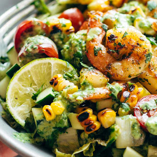 Best Detox Grilled Chopped Salad.