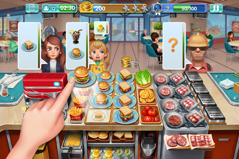 Image result for Burger Master game