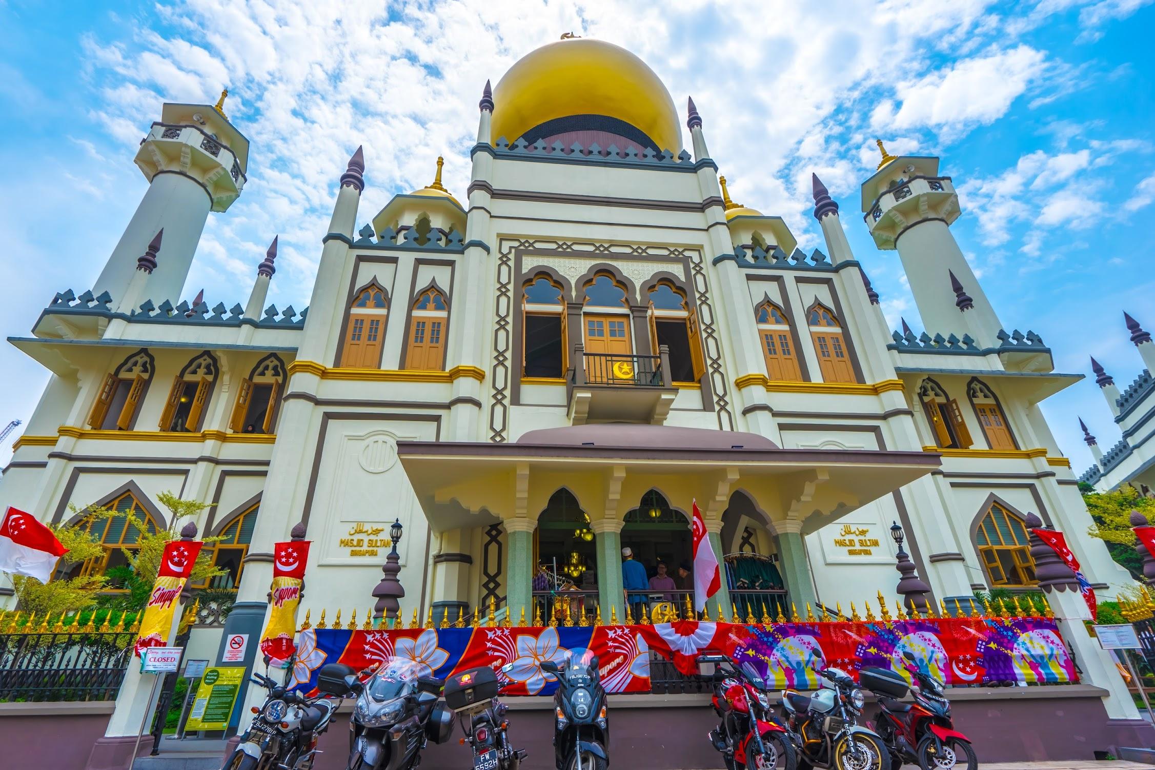 シンガポール サルタン・モスク1