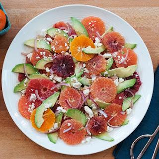 Citrus Salad with Avocado & Feta.