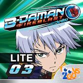 B-Daman Fireblast vol. 3 LITE