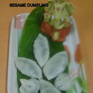 Sesame Seeds Dumpling