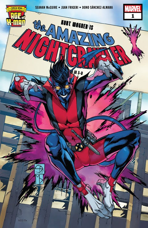 Age of X-Man: The Amazing Nightcrawler (2019) - complete