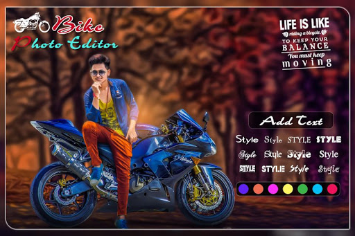 Bike Photo Editor: Bike Photo Frame 2019 1.15 screenshots 2