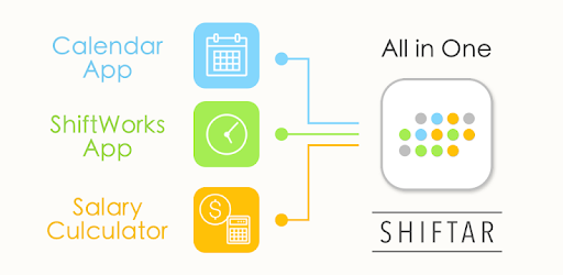 Manage both your shift work schedule and private schedule in one app!