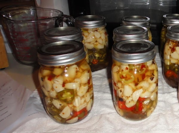 Pickled Garlic With Jalapenos Recipe