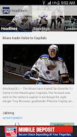 Screenshot of HockeySTL