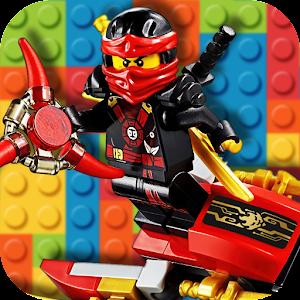 Ninja Brick Figure