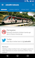 Screenshot of JadwalKA Kereta Api Indonesia