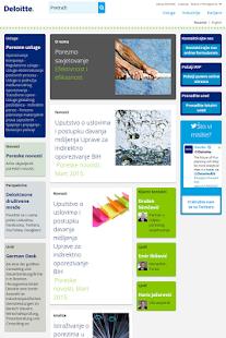 Deloitte BiH - náhled